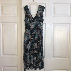 BCBG Women's XS Floral Dress